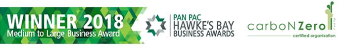hb chamber business award carbon zero