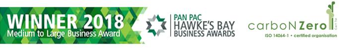 hawkes bay chamber business award carbon zero